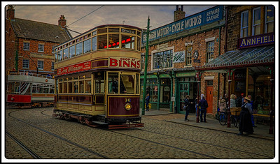 001 - Beamish Museum, Beamish, County Durham, UK - 2019.