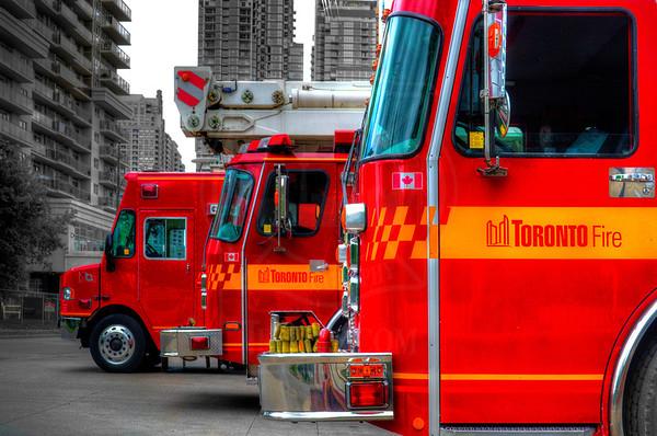 June 13, 2014 - Working Fire - 1060 Sheppard Ave. W