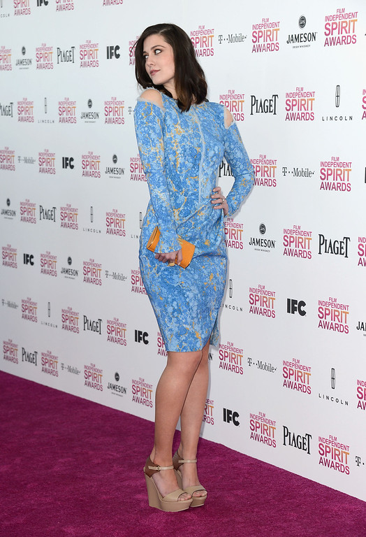 . SANTA MONICA, CA - FEBRUARY 23:  Actress Mary Elizabeth Winstead attends the 2013 Film Independent Spirit Awards at Santa Monica Beach on February 23, 2013 in Santa Monica, California.  (Photo by Frazer Harrison/Getty Images)