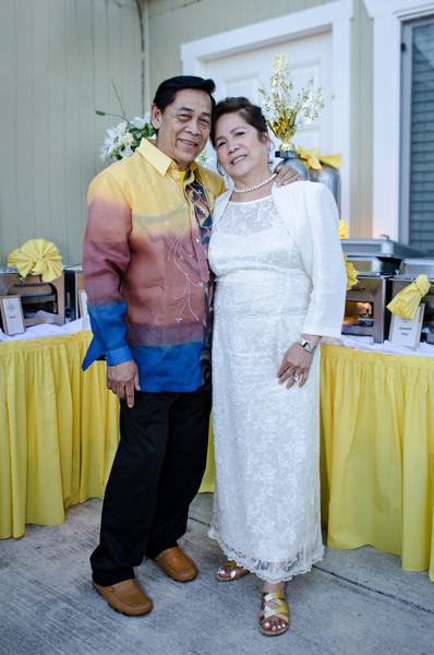 Jose Sr, & Epifania Angeles 50th Wedding Anniversary