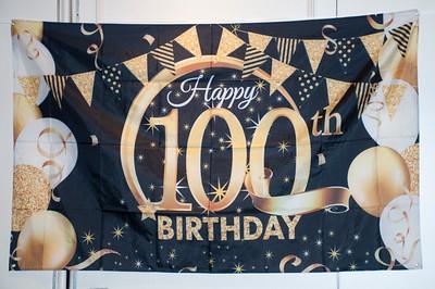 Bob's 100th Birthday