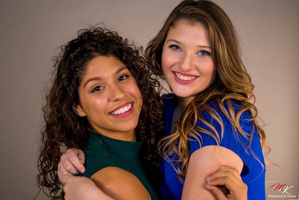 Rachel and Morgan