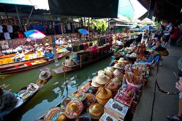 Arrival and Bangkok