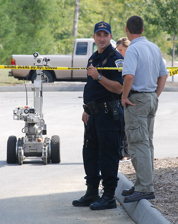 9/23/2008 Suspicious Package Blown Up