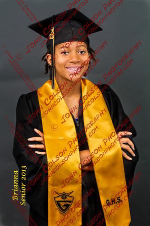 Brianna Robinson - 2013 - Garland High School
