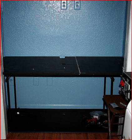 PHASE TWO (TABLE, TABLE TOP, AND MONITOR STAND)