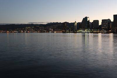 Honolulu Harbor Sunrise & Reflections