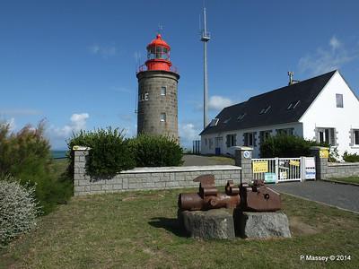 Granville & Lighthouse at Pointe du Roc 11 Aug 2014
