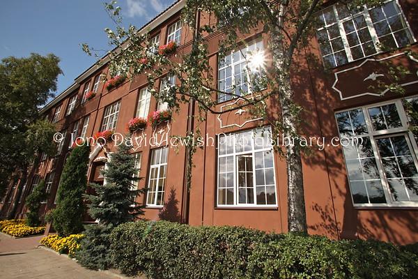 LITHUANIA, Kaunas. Jewish school, 1927~1940, Karaliaus Mindaugo road. (9.2011)