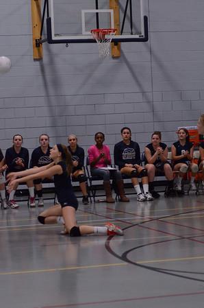 Oswego East girls volleyball fresh. B Vs Metea 2012