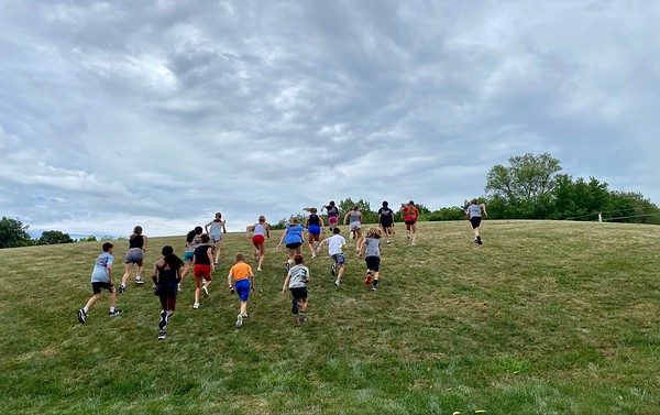 MS Cross Country Practice (8/13/21)