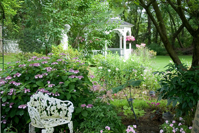 The French Garden at The Village Country Inn, Manchester, VT