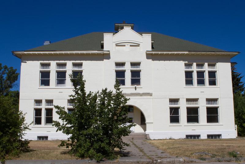 A former school.
