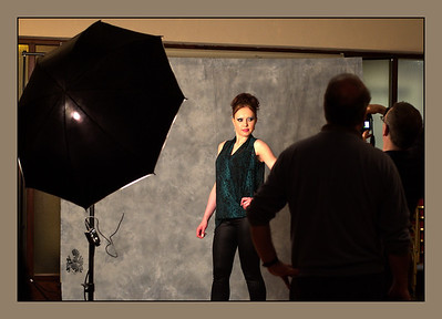 Model shooting