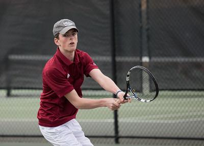 4/11/18: Boys' JV Tennis vs Salisbury
