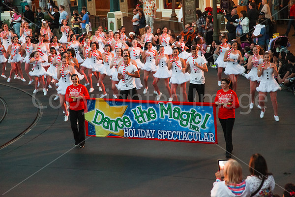 Holiday Spectacular Disneyland-ABC Taping Nov 2013