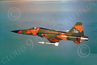Flying Republic of Korea Air Force Northrop F-5 Freedom Fighter Airplane Pictures