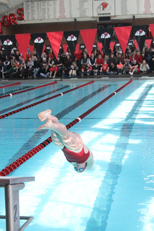 Swimming vs Davidson