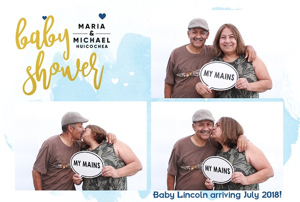 Maria and Michael's Baby Shower - Mira Loma