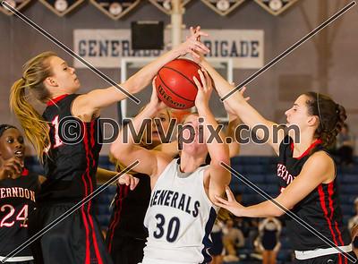 Herndon @ W-L Girls Varsity Basketball (12 Dec 2013)