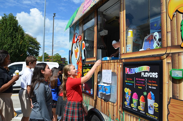 Kona Ice on campus