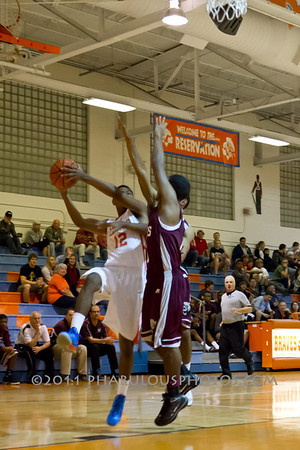 Cypress Creek @ Boone Boys Varsity Basketball - 2012