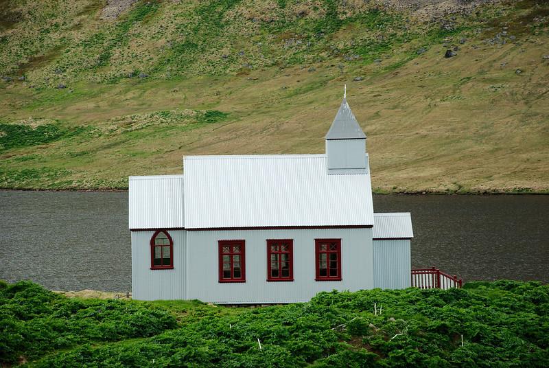 Aðalvík - Staður. Staðarkirkja 2013.