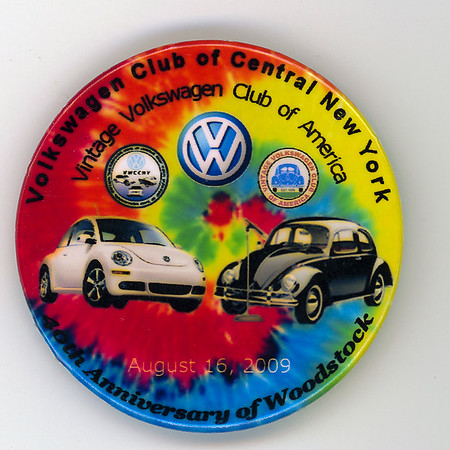 VW Show and Syracuse Nationals Badges