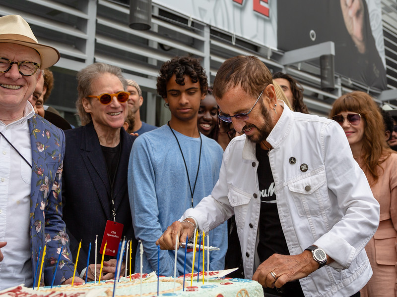 2019_07_07, Birthday, CA, Capitol Records, Los Angeles, Ringo, Jenny Lewis, Ringo Starr
