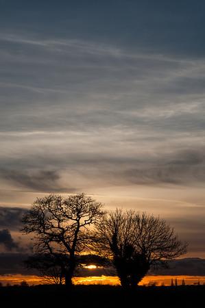 Sunsets 2013