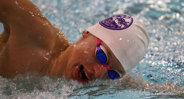 Pioneer swimming vs Huron 02-25-2021