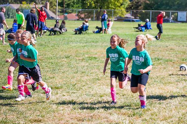 2nd Grade Girls Soccer '15