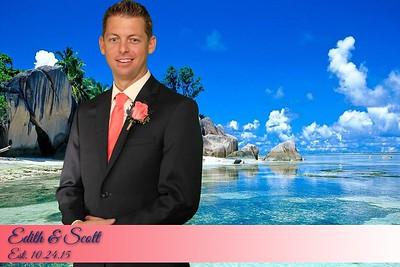 Edith and Scott Wedding
