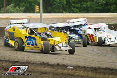 Bridgeport Speedway - 6/15/19 - John Cliver