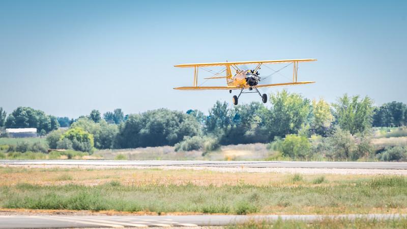 PT-17 Taking off