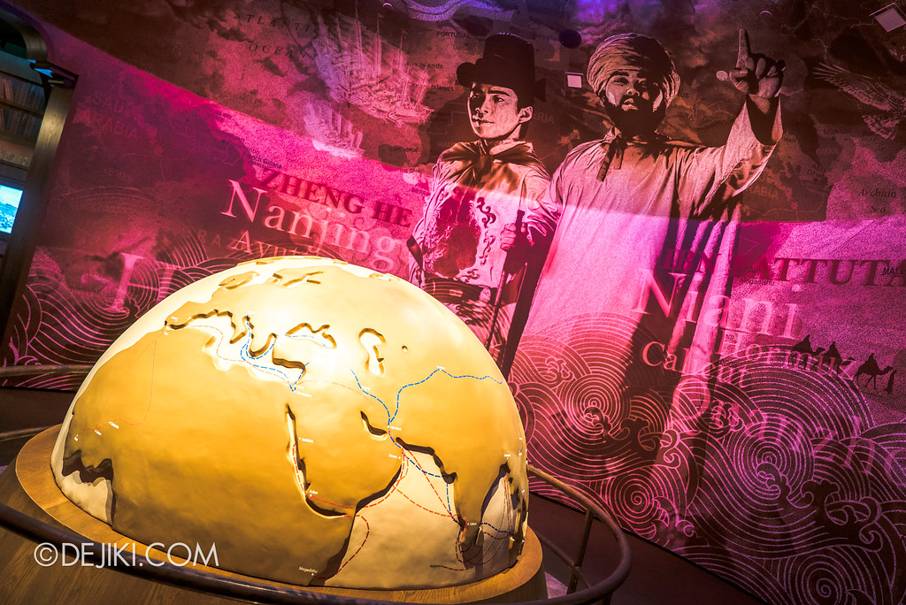 Resorts World Sentosa - Maritime Experiential Museum 2017 / Maritime Globe Room