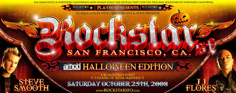 Playboi Presents ROCKSTAR SF @ ROE/Prive 10.25.08