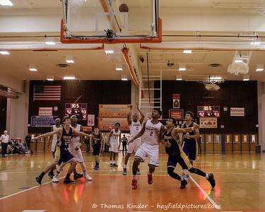 Boys Varsity Basketball vs Lake Braddock 2/21/17