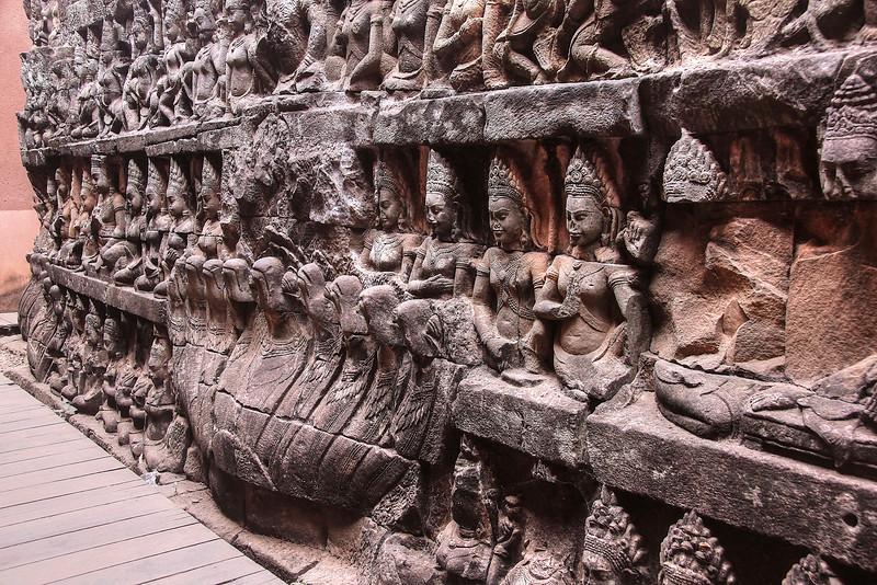 Terrace of the Leper King - Angkor Thom - Angkor Archaeological Park