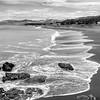 Moonstone Beach _ bw