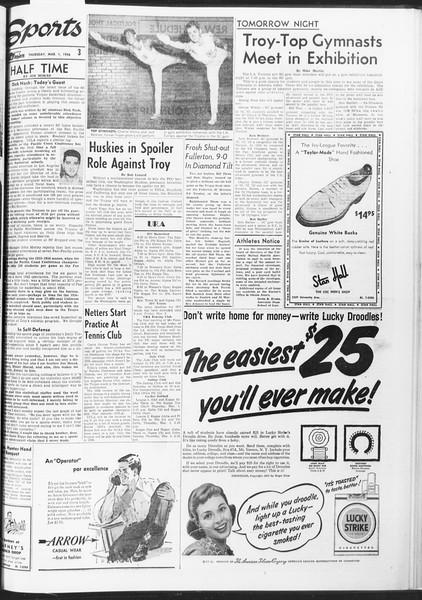 Daily Trojan, Vol. 47, No. 86, March 01, 1956