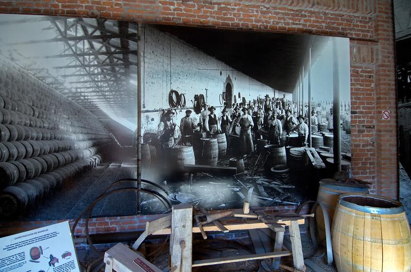 Fotografía de antiguos fabricantes de barricas