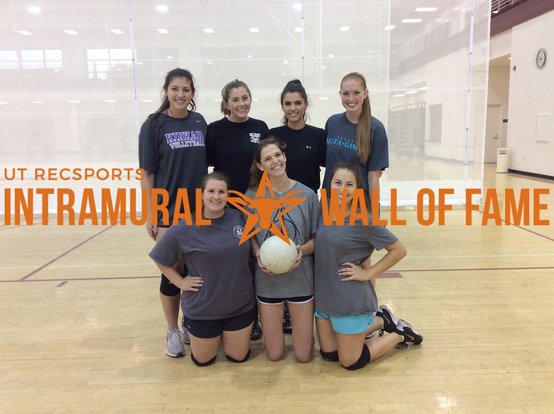 Spring 2017 Volleyball Women's A Champ_DG