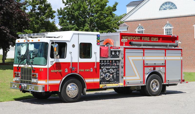 Rescue 1  2007 HME / Ferrara   1500 / 750