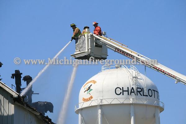 8/23/12 - Charlotte fire scene, 421 N. Cochran
