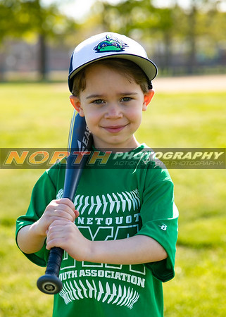201 Lake Monsters T-Ball coach Tuhey