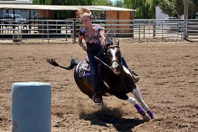 Brooke Horse Barrel Racing 7-25-2009