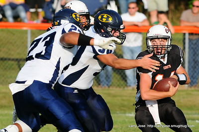 Jonesville vs Hillsdale V Football