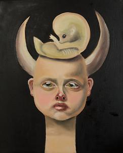 """""""Hecate"""" (oil) by Lala Belyaevskaya"""