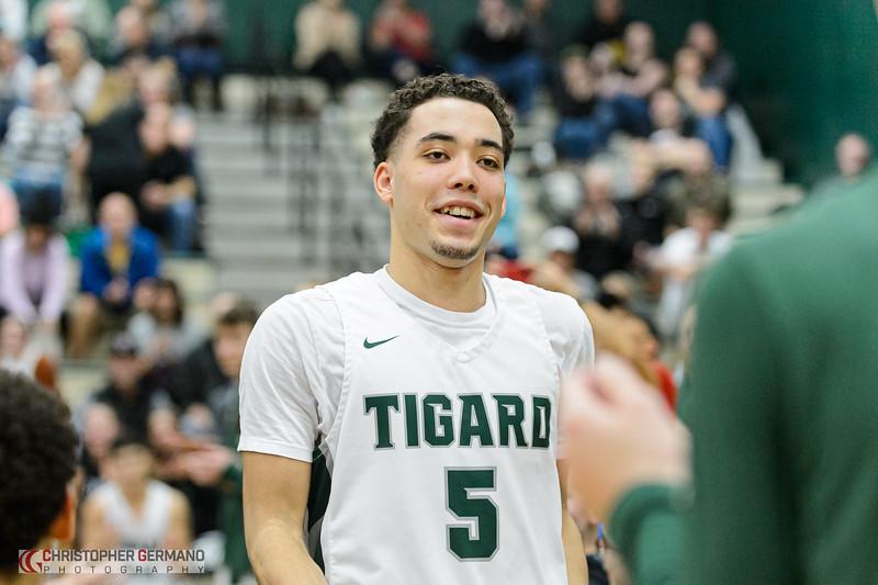 THS Varsity Boys Basketball vs Tualatin